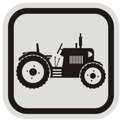 tractor, frame