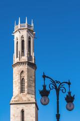Campanario de la Iglesia de San Agustín. Valencia. España