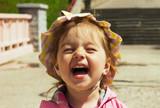 Fototapety Portrait of cute smiling little girl