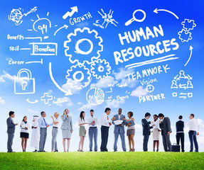Human Resources Employment Teamwork Business People