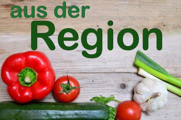 Tafel aus der Region