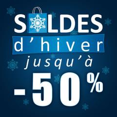 Soldes d'hiver jusqu'à -50%