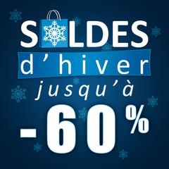 Soldes d'hiver jusqu'à -60%