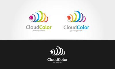 Cloud Color Logo