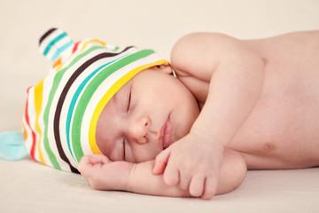 Sleeping gently baby