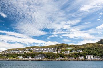View of Mallaig, a little port in Lochaber