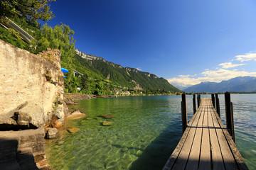Schweiz - Genfer See - Schloß Chillon