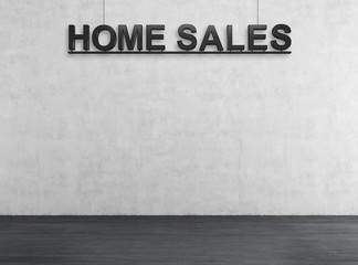 home sales text