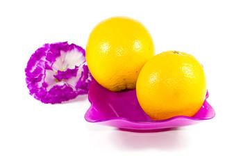 Frische Reife Orangen