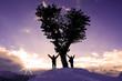zirvede tek ağaç&zirve başarısı - 75790580