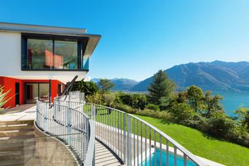 Modern villa, external
