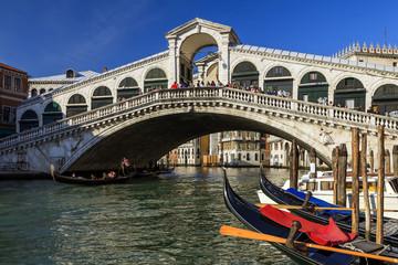 Ponte di Rialto Venezia.