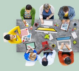 Administrator Casual Colleagues Team Teamwork Concept