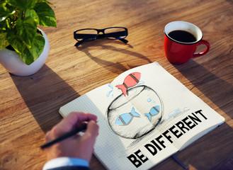 Different Business Motivate Idea Planning Concept