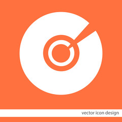 cd dvd vector icon