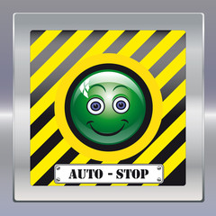 Autostop smiley