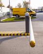 Leinwanddruck Bild - Parking barrier