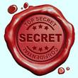 top secret stamp - 75793557