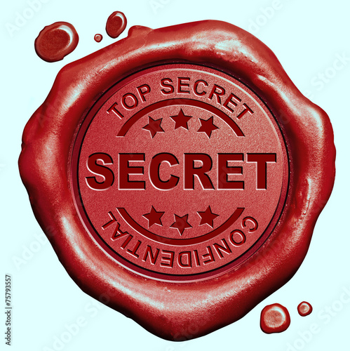 top secret stamp - 75793557