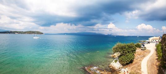 Corfu .Panoramic view.