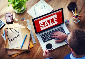 Discount Promotion Deduction Sale Planning Concept