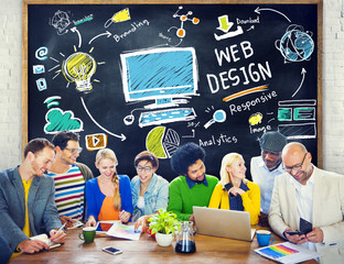 Content Creativity Digital Graphic Layout Webdesign Concept