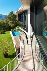 Architecture, modern villa