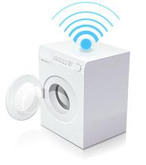 Machine à laver connectée