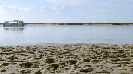 Ria Formosa conservation park view. Algarve. Portugal