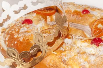 "The spanish cake ""Roscon de Reyes"""