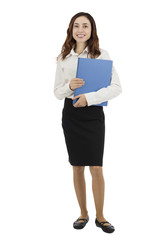 Business woman confident standing