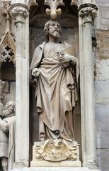 St Luke the Evangelist at St Stephens Cathedral in Vienna