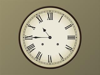 Horloge 10h45