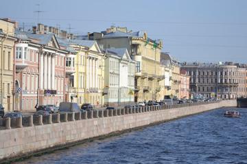 View of the Fontanka River
