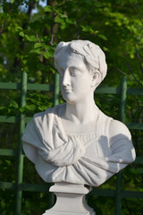 Statue in Summer Garden