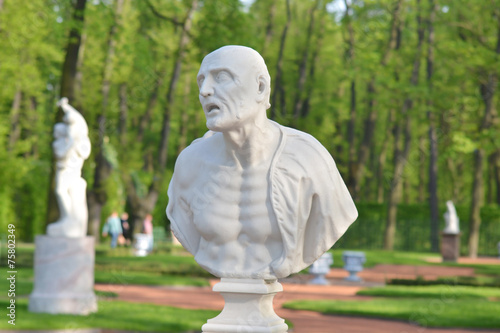 Papiers peints Statue Statue of ancient Roman philosopher Seneca