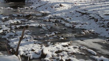 Frozen Creek with sound