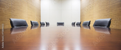 modern office meeting room table and chair - 75804333