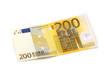 Leinwanddruck Bild - 200 Euro Vorderseite
