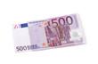 Leinwanddruck Bild - 500 Euro Vorderseite