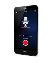 sound recorder smartphone