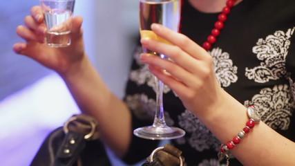 Festive cocktail party