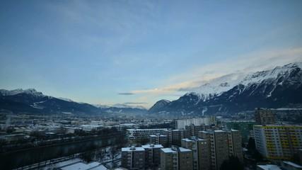 Innsbruck Morgendämmerung