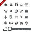 E-Shopping Icons -- Basics