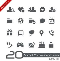Social Communications -- Basics