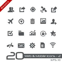 Web & Mobile Icons-2 -- Basics