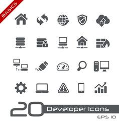 Developer Icons -- Basics