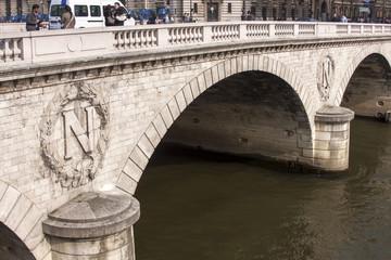 Paris, France, on March 25, 2011. Napoleon Bridge
