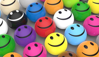Unterschiedlich und glücklich
