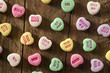 Colorful Candy Conversation Hearts - 75810126